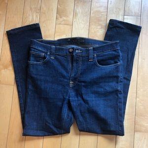 Nudie Jeans - High Kai Twill Navy - W34 L30